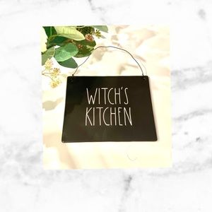 Witch's Kitchen Rae Dunn sign